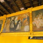 Some of the paintings inside the Sun Temple