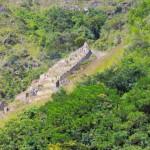 Inca settlement in the hills