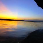 Sunset on River Napo