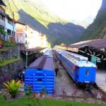 The Railway Station at Manchu Picchu