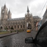 One of the many churches in Quito