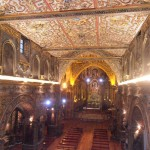 Beautiful chapel at the convent