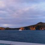 Going around Cape Horn