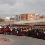 Tourist train around Lorca