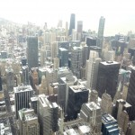 A view from the pot on Willis Tower