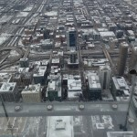 A view from the top of Willis Tower