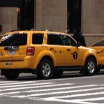 The Yellow Cabs are much Smaller these days