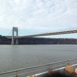 Part of the George Washington Bridge