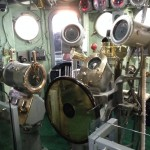 The Helm of USS Entrepid