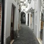 Side streets in Capri