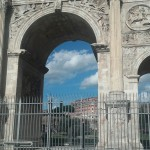 One of the four arches stil remaining in Rome