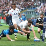 George Ford Scores the Opening Try for England