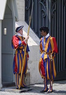 The Pope's Swiss Guards