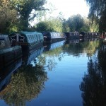 Permanent moorings on canals