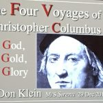 Christopher Columbus lecture.