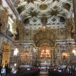 Inside this amazing church covered in gold leaf