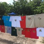 Lots and lots of t/shirts for sell, all shapes and sizes
