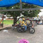 Motor bike taxis