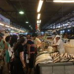 So busy, so many varieties of fish