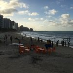 People still swimming, surfing etc., etc.,