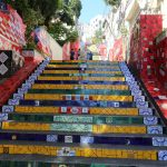 Iconic steps, they were amazing colours