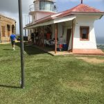 The lighthouse doubled as a gift shop as well