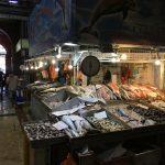 Fish market adjoining the restaurant