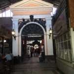 Entrance to fish market