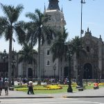Lovely square at Lima