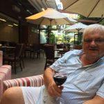 Nice relaxing wine in the garden bar