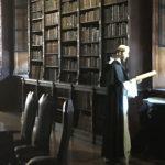 Library inside monastry