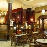 Another view of Café Tortoni