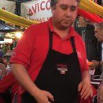 Pedro our waiter