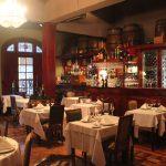 Inside this lovely restaurant