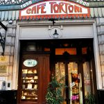 Entrance to the oldest cafe in Buenos Aires