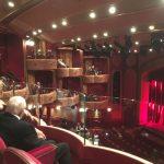 The theatre on board