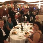Our dinner table, and what a great crowd they are