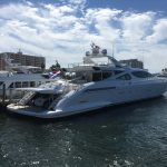 One of the small yachts 195 ft. Amazing