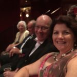 Debbie and Paul at the theatre