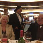 Elaine, Desiree and Geoff formal night