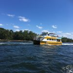 The water bus we travelled in