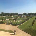 Formal gardens at Hampton Court