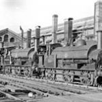 Old picture of the locomotive factory