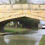 Beautiful gothic bridge