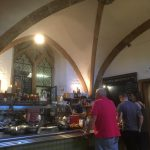 Lovely cafe, with very different food