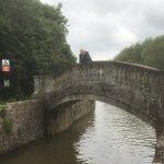 Bridge leading to the lock
