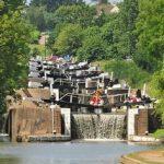 Hatton Locks all 21 of them, wow!