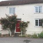 Pretty cottages near our mooring