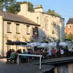 Pub on canal side at Audlam