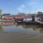 Boat yard on route